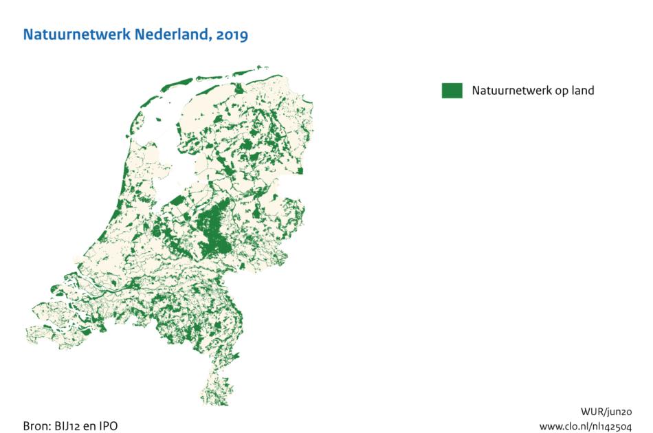 Natuurnetwerk Nederland (2019)