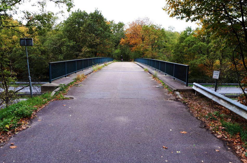 De Stokkumerstraße brug is breed genoeg voor de aanleg van een faunastrook en draagt dan bij als passage voor o.a. reptielen