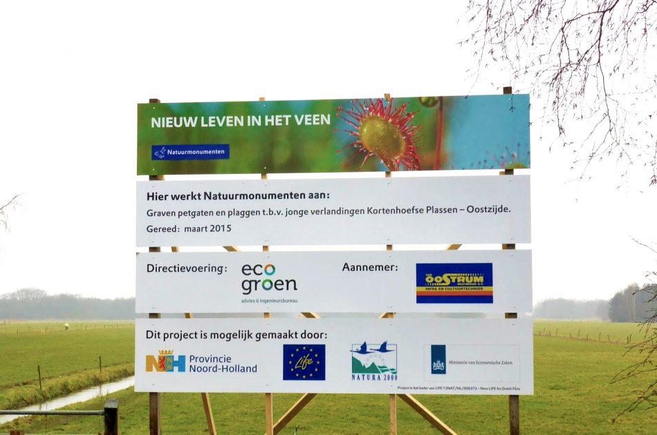 Directievoering laagveenherstel voor Natuurmonumenten