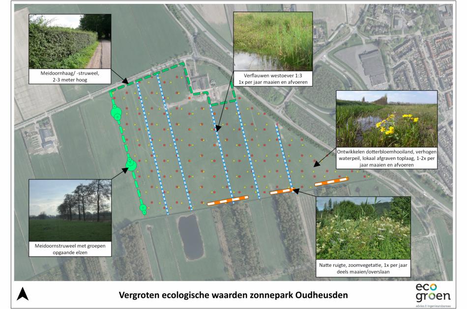Conceptontwerp zonnepark Oudheusden in opdracht van <a target=