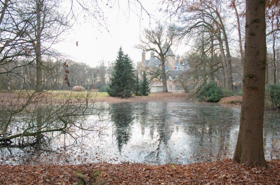 Historische waterpartij