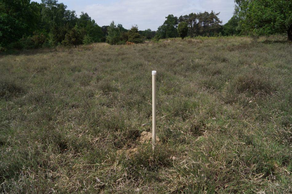 Tijdelijke peilbuis tbv grondwatermeting