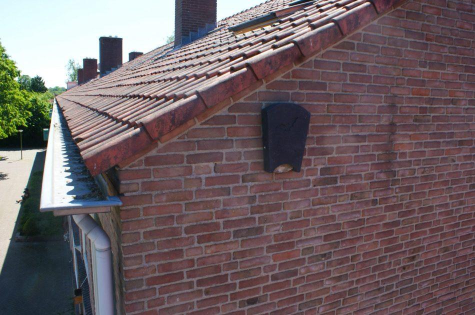 Tijdelijke vleermuiskasten compenseren het verlies aan verblijfplaatsen. Foto: Arno Kuipers